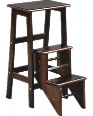 Solid Wood Step Stool /Folding Ladder