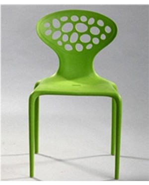 Modern Design Stackable Plastic outdoor café chair / dining / study chair