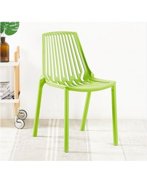 Modern Design Popular Fashion Plastic Stackable Dining Chair / Colourful Stack Café Chair