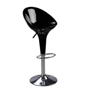ABS High Breakfast Bar Stool Swivel Bar Chair