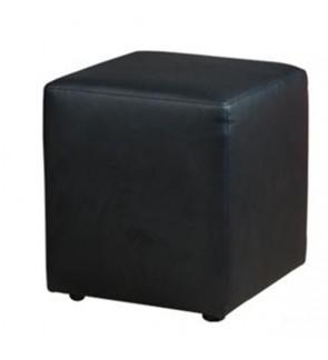 Modern PU Square Ottoman Stool / Sofa Footstool