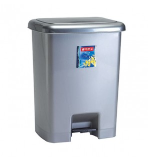 Square Foot Pedal Dustbin 25 Liter