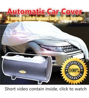 Automatic Car Cover Vehicle Full Protection Anti UV Dust Resistant