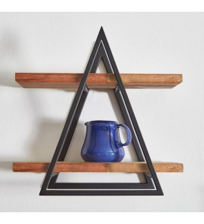 Modern Design Solid Wood Wall Shelf/ Rack