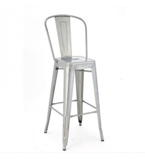 Modern Bar Stool High Chair / Bar Chair with Back Rest