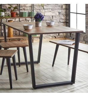 Modern Rectangle Dining Table -120 CM ( Table Only )