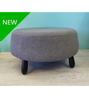 Modern Fabric Living Room Ottoman Stool
