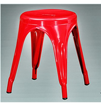Indoor & Outdoor Cafe Dining Iron Stool