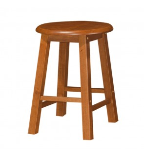Fully Solid Rubberwood Dining Stool / Wood Chair / Dining Chair /Bangku Kayu Getah