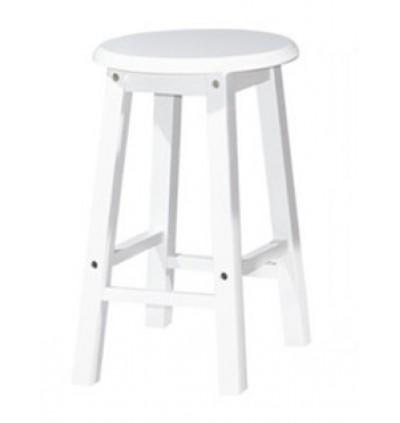Fully Solid Rubberwood Dining Stool / Wood Chair / Dining Chair /Bangku Kayu Getah