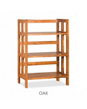 3 TIERS BOOK CASE / BOOK SHELF / BOOK CABINET / BOOK RACK MULTI-PURPOSE DISPLAY CABINET / STORAGE CABINET ( 4 COLOR SELECTION )