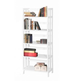 5 TIERS BOOK CASE / BOOK SHELF / BOOK CABINET / BOOK RACK MULTI-PURPOSE DISPLAY CABINET / STORAGE CABINET ( 4 COLOR SELECTION )