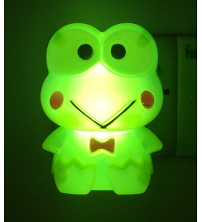 1W 110-250 V~50-60-Hz  MINI CUTE FROG CHILDREN LED NIGHT LIGHTING