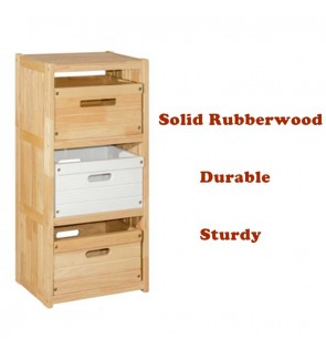 3 Tier Organizer Rack / Multi-purpose Storage Wooden Shelf