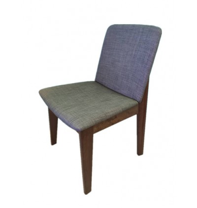 Dining Chairs Set of 2, Fabric Dining Chair with Solid Wood Legs