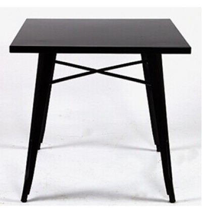 Tolix Cafe Table / Bistro Dining Table / Iron Metal Table