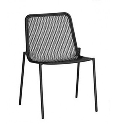 MODERN OUTDOOR STEEL DINING CHAIR