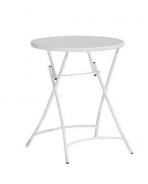 MODERN 2ft ROUND FOLDING OUTDOOR TABLE