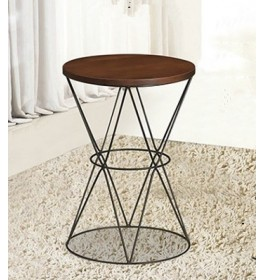 MODERN (HOURGLASS SHAPE) SIDE TABLE / COFFEE TABLE / LIVING ROOM FURNITURE