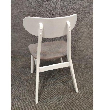 DINING CHAIR WITH CUSHIONED SEAT MODERN FURNITURE FOR AIRBNB , DINING HALL AND CAFE KERUSI
