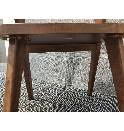 DINING CHAIR WITH WOODEN MODERN FURNITURE FOR AIRBNB , DINING HALL AND CAFE KERUSI