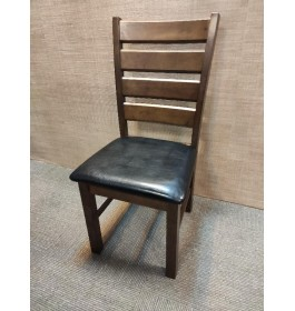 DINING CHAIR WITH SOLID WOOD / CUSHION