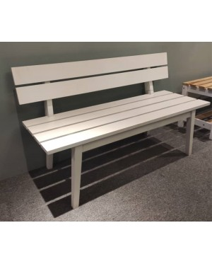 Sturdy and Long Lasting Solid Rubberwood Long Bench