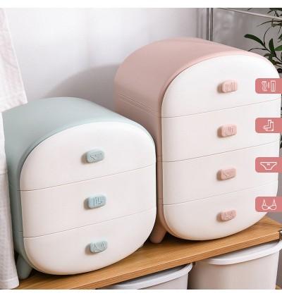 Drawer Organizer Divider / Storage Box for Socks, Bra, Panties, Ties, Lingerie / Closet Storage Organizers / Ruangan Simpanan Pakaian Dalam