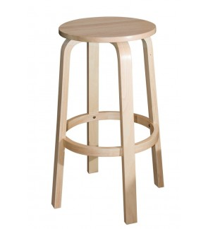 Set of 2pcs 29 inches Solid Wooden Bar Cafe High Stool Chair / Kerusi Bar