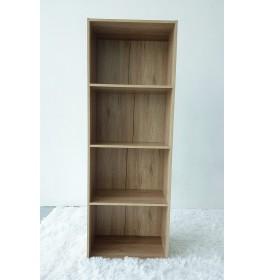 Multipurpose Rack / Children Bookcase Shelf / Rak Buku Kabinet - 4 Tier