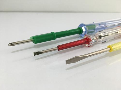 3 PCS HARDWARE HAND TOOLS SET / Screw driver / test pen