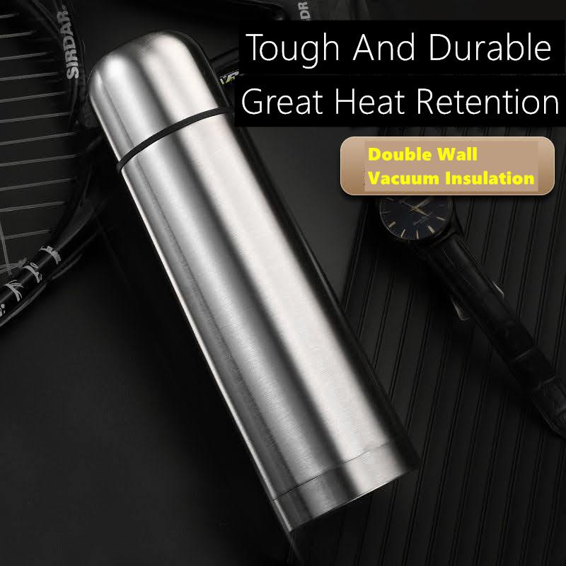 Termos Air Panas Dingin Stainless Steel / Quality Vacuum Thermo Flask