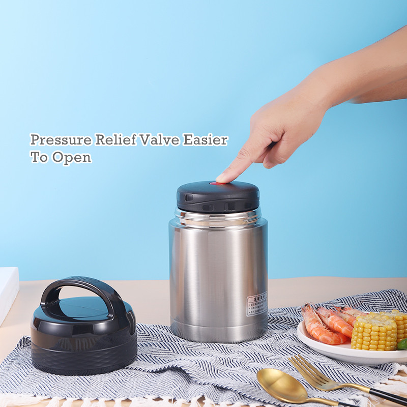 Insulated Lunch Containers Hot Food Jar / Soup Thermos / Stainless Steel Bento Lunch Box Keep Warm/Cold