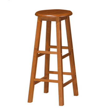 24 INCH QUALITY SOLID WOOD PUB COUNTER BAR STOOL CHAIR