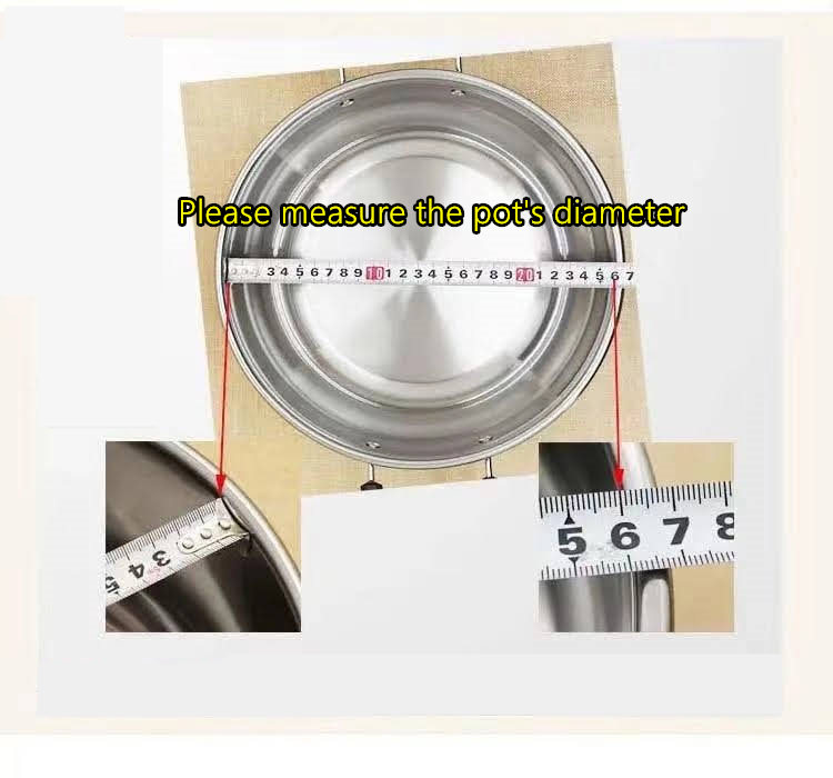 Kitchen Durable Universal Lid Stainless Steel & Tempered Glass For Pots and Pans